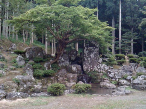 One of the gardens up in the mountain