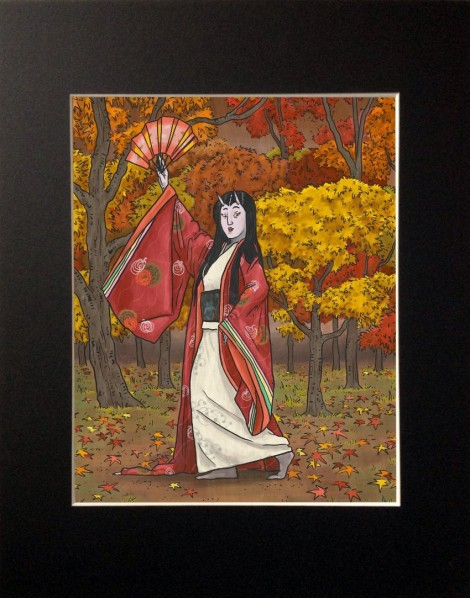 Momiji Print, 8x10 inches